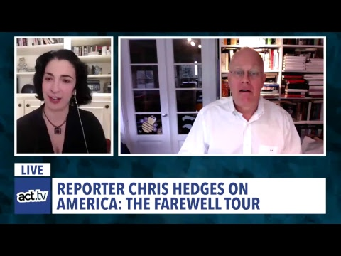 LIVE CHAT: Chris Hedges on Trump's America