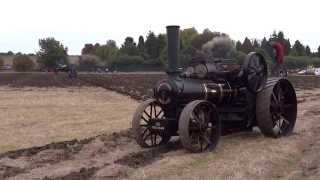 Steam Ploughing at Stotfold Mill October 2014