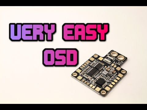 HUBOSD. Easy & Cheap OSD solution for your quadcopter. Hubosd x Review