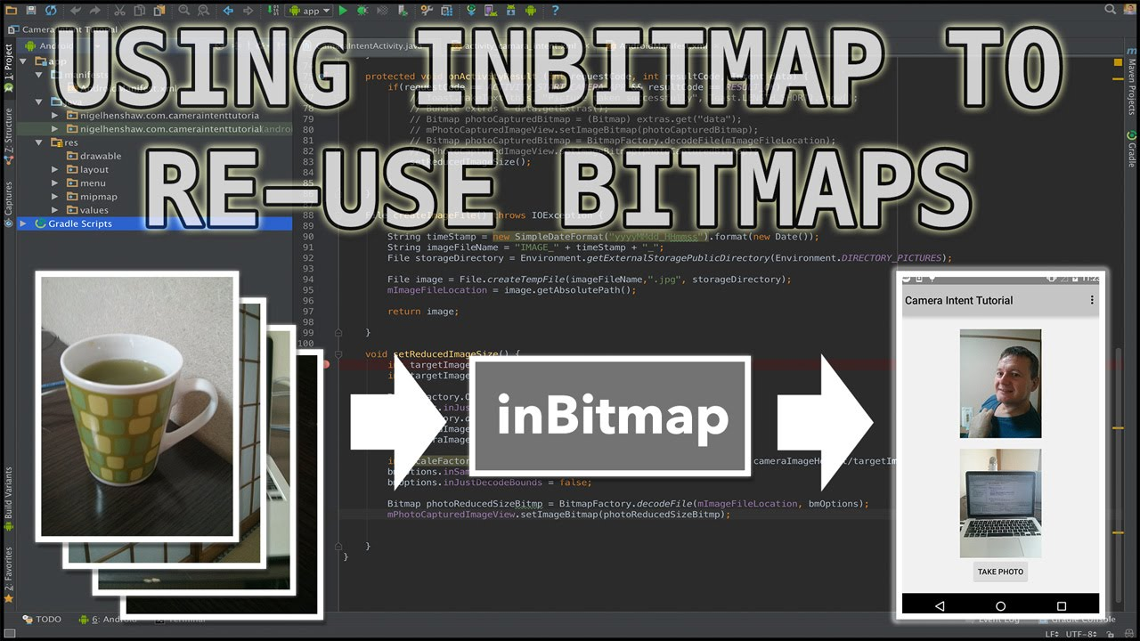 Android performance with inBitmap - Nige's App Tuts