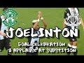 Hibernian 1 - Newcastle United 3 - Joelinton - Goal Celebration & Sub Applause - 30.07.19