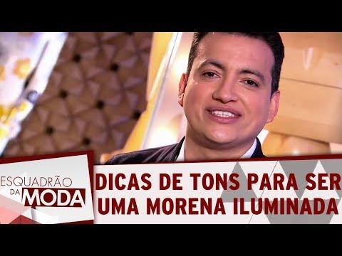 Dicas De Tons Para Ser Uma Morena Iluminada | Esquadrão Da Moda (16/12/17)