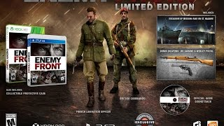 Enemy Front Special Edition PS3 Unboxing (HD)