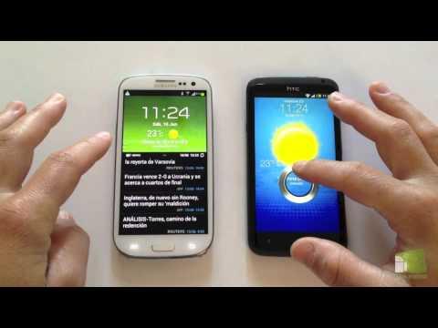 Comparativa Samsung Galaxy S3 vs HTC One X en español | FaqsAndroid.com