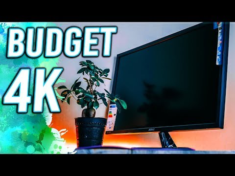 Best Budget 4K Gaming Monitor? ASUS VP28UQG Unboxing!