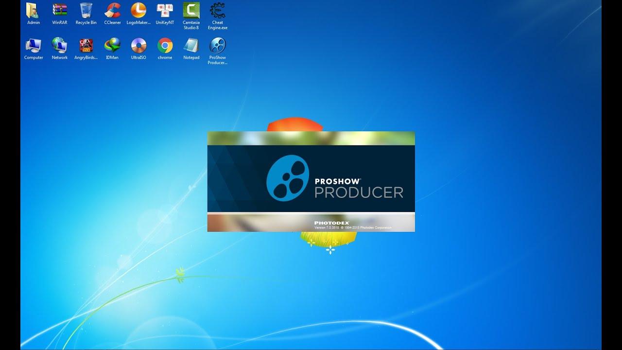 Cài ProShow Producer 7 Portable đơn giản không bị chữ vàng trong 3 phút