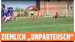 Strafstoß, Kopfball, Schiri-Tor!   Witziger Referee-Fail in Russland
