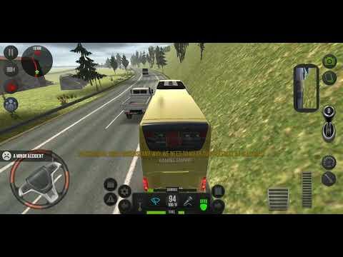 Bridge bus accident bus simulator ultimate game,bus derving simulator game |