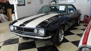 1967 Chevrolet Chevy Camaro Z28 Z/28 in Deep Water Blue Paint on My Car Story with Lou Costabile