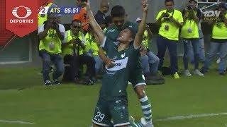 Gol de Cisneros   Zacatepec 3 - 2 Atlas   Copa Mx J-6   Televisa Deportes