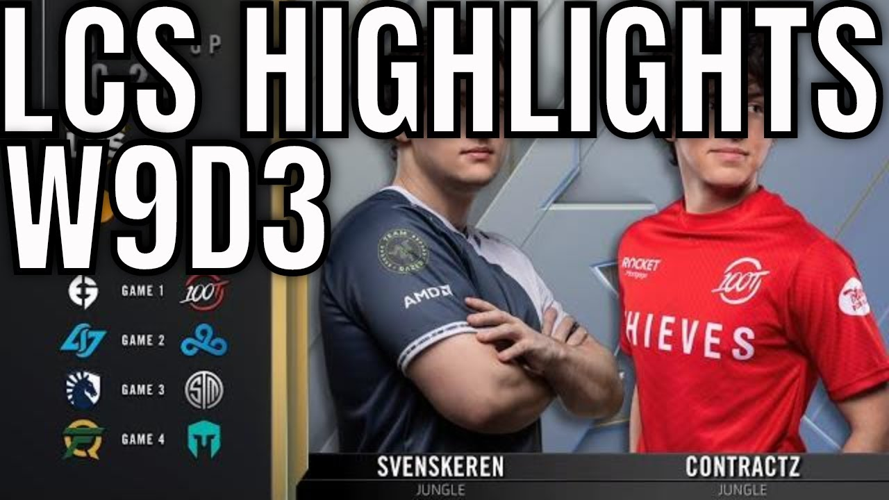LCS Highlights ALL GAMES Week 9 Day 3 Summer 2020 + Complete Playoffs Brackets
