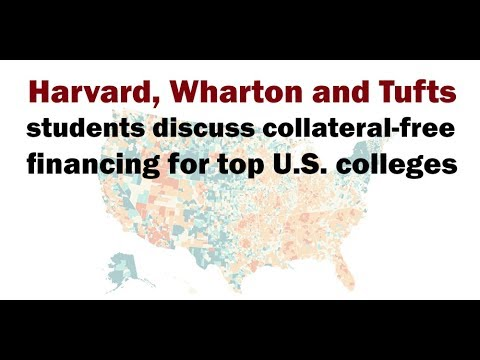 Harvard, Wharton and Tufts students discuss collateral-free financing for top U.S. colleges