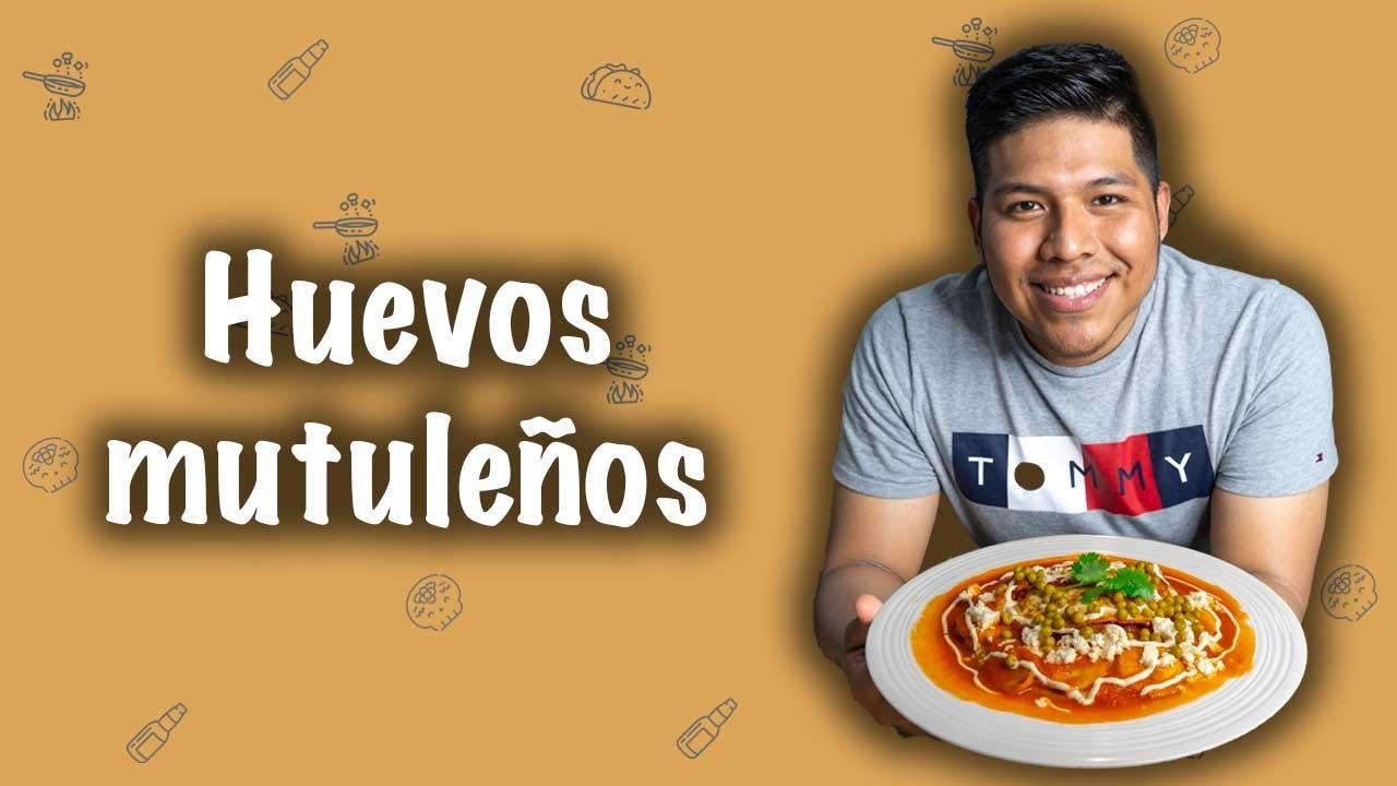 Huevos mutuleños (Desayuno mexicano)