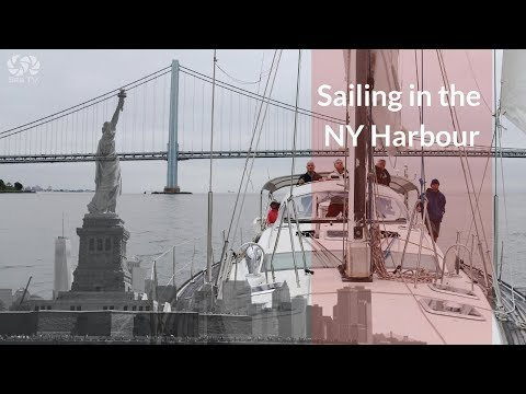 Sailing the New York Harbour