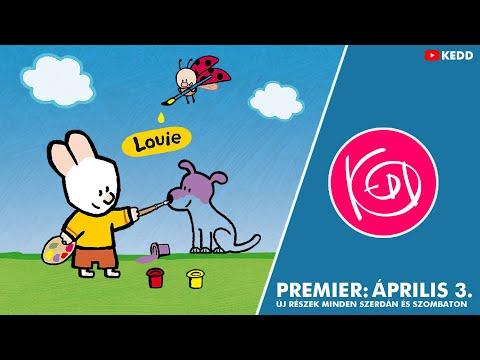 Louie - Nyuszi és a varázsecset | Trailer thumbnail