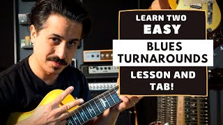 Classic Blues Turnaround Guitar Lesson