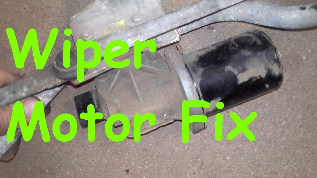 Vw t5 wiper motor problems t5 wipers intermittent for Motor vehicle repair license