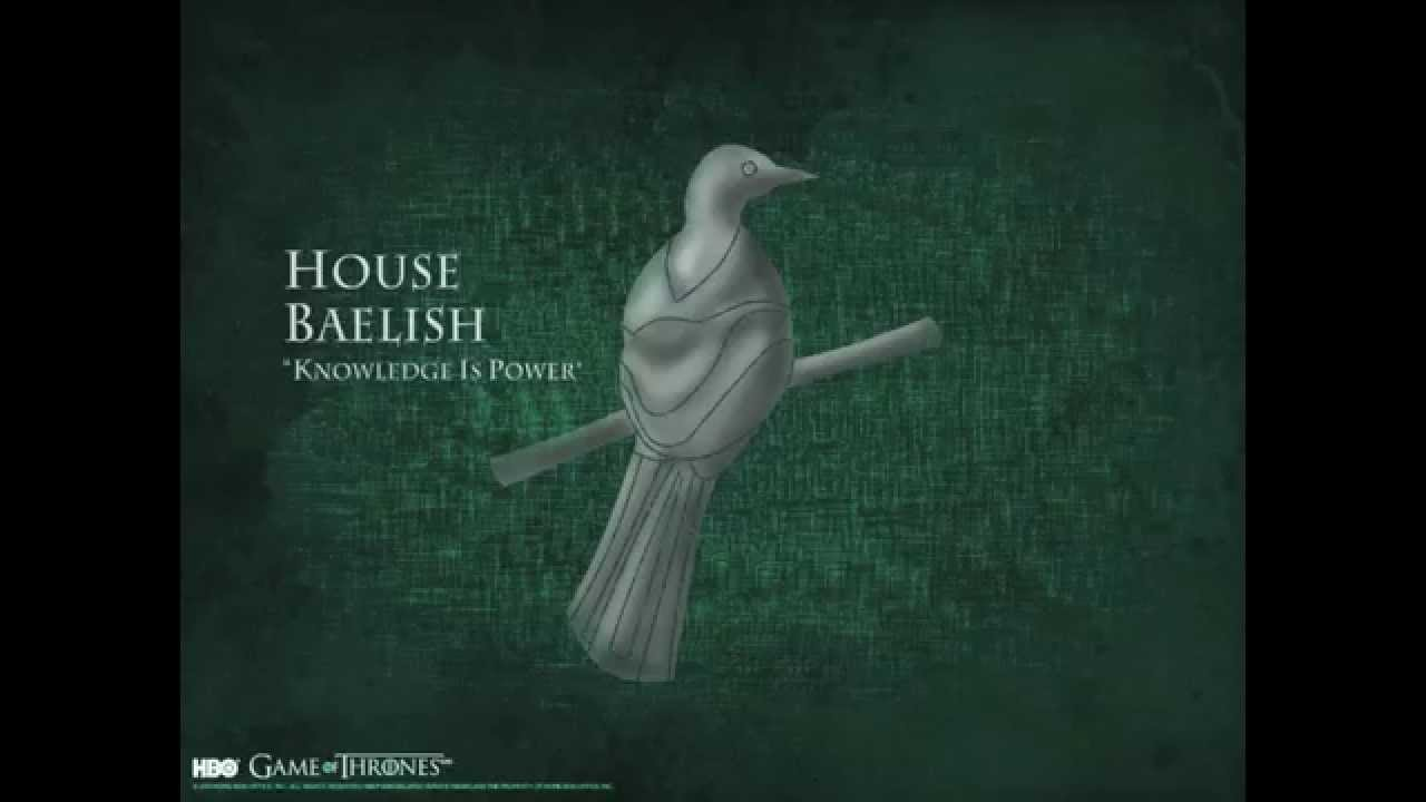 Game Of Thrones House Baelish