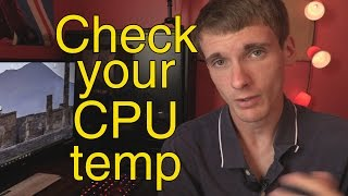 How to check your CPU temperature - OVERHEATING CPU