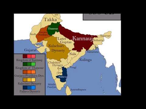 Rulers maping from 2800BCE - History behind Republic India
