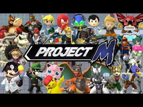 Project M U: Project M Skins in Super Smash Bros Wii U Mods
