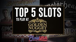 Top 5 Online Slots at Golden Nugget Casino NJ | Real Money Slots | $20 Free - No Deposit!