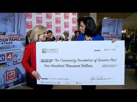 Art Van donates $100,000 to Flint