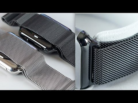 Apple Watch Space Black Milanese Loop: Review