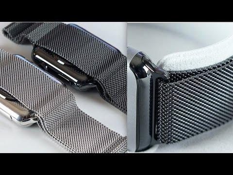 Apple Watch Space Black Milanese Loop: Review