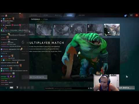 Tyler1 Plays Dota 2  [Sept 8, 2017]