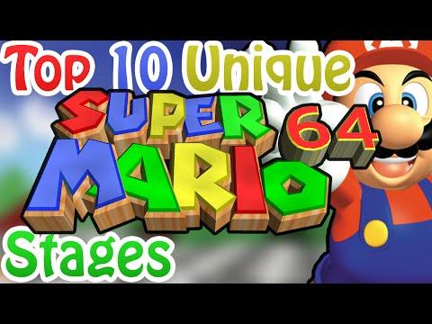 Top 10 Unique Super Mario 64 Stages