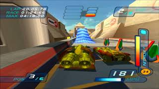 Hot Wheels World Race Power Rocket on Egyptian Dunes