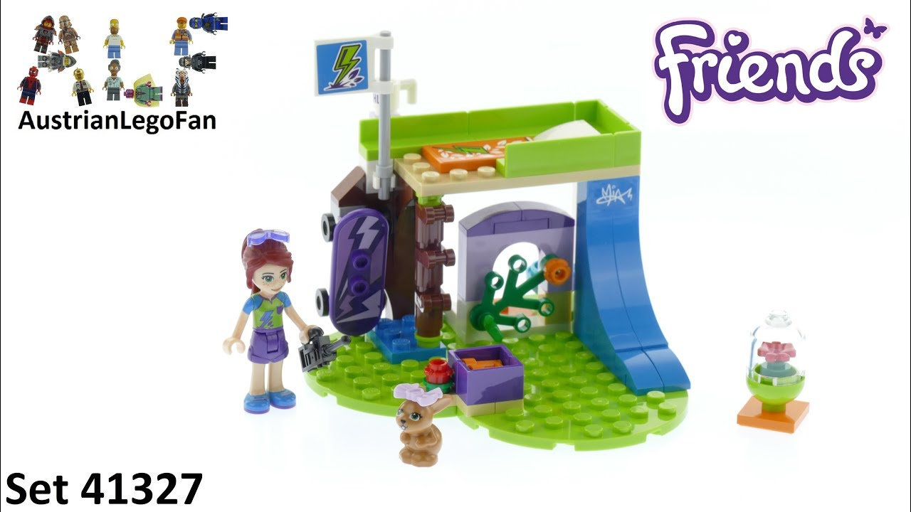 Lego Friends 41327 Mias Bedroom Lego Speed Build Review