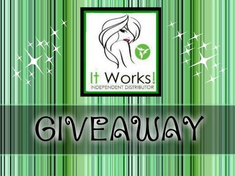 It works global giveaway win over 100 in free for It works global photos