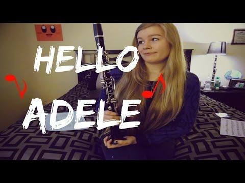 Adele- Hello (Clarinet Cover)