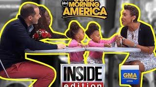 LIVE on Good Morning America & Inside Edition!