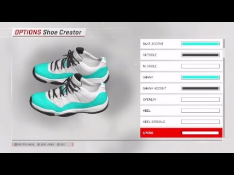 bf9dbfbb27b8 NBA 2K18 Shoe Showcase 3 Custom Colorway Edition (Lebron 15
