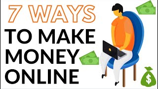 7 Legit Ways to Make Money & Passive Income Online - How to Make Money Online (2020)