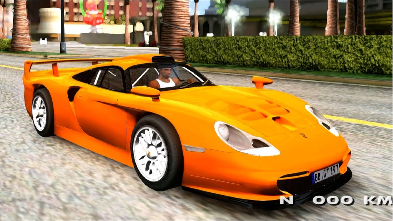 1997 porsche 911 gt1 evolution strassen version gta mod youtube. Black Bedroom Furniture Sets. Home Design Ideas