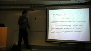 "John Baez: ""Network Theory I: electrical circuits and signal-flow graphs"""