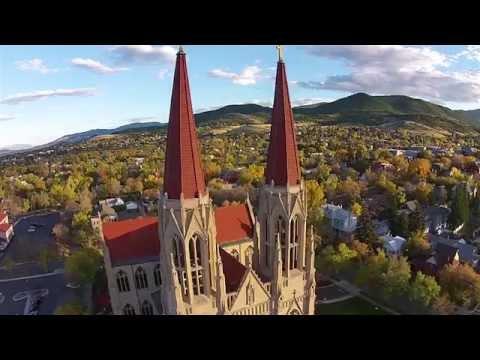 Helena Takes Flight - Helena, Montana Like You've Never Seen It Before!