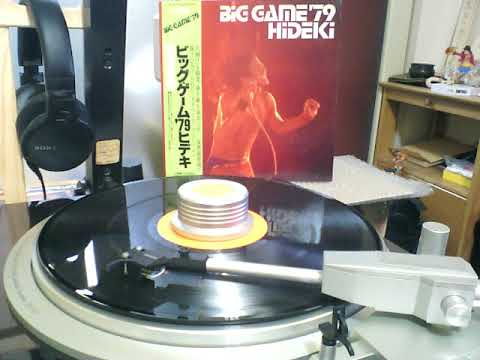 BIG GAME HIDEKI '79  A3 「LOVING YOU BABY」