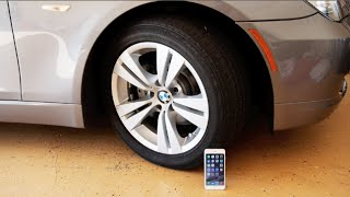 iphone 6 plus vs bmw car durability test