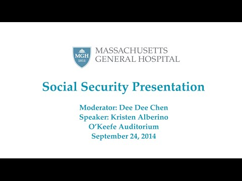 SOCIAL SECURITY LECTURE