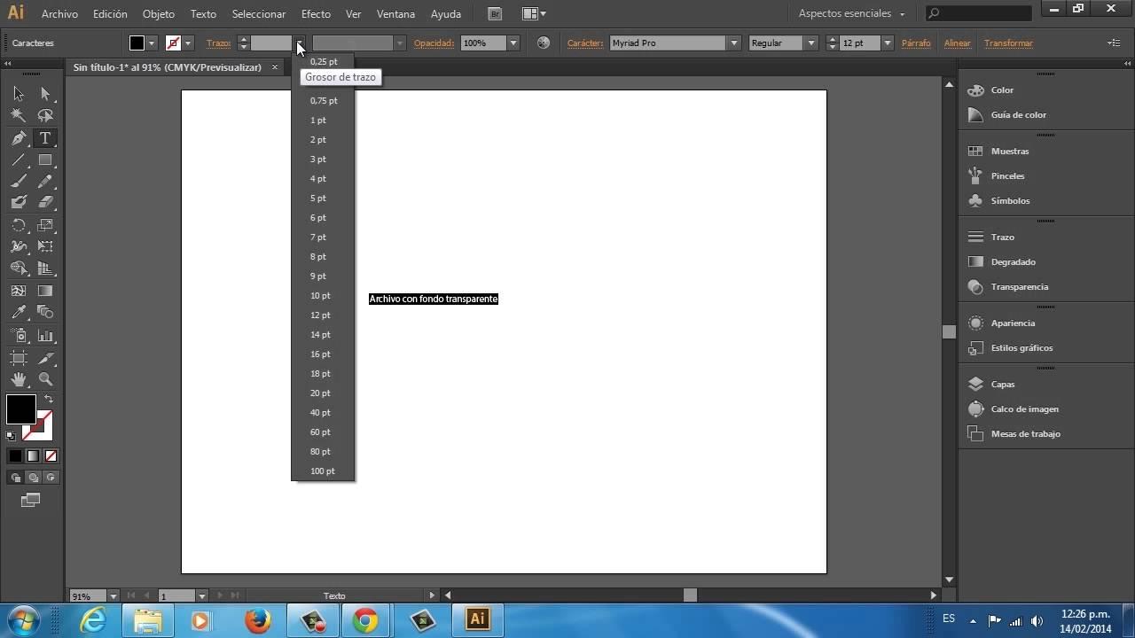 c94d8e1e64d54 Cómo guardar un archivo con fondo transparente en Adobe Illustrator ...