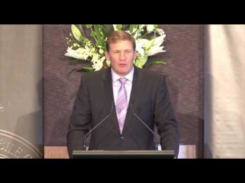 2012 Bob Rose Lecture - Eddie McGuire