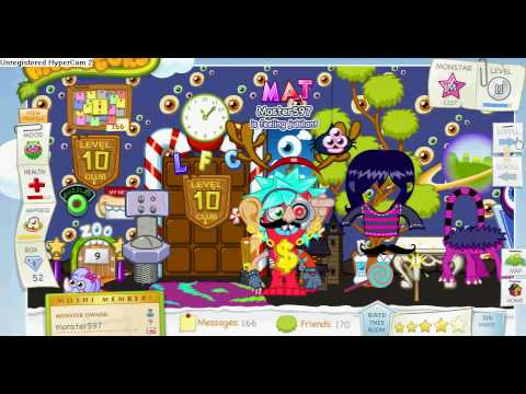 Moshi Monster Monster597 House Youtube