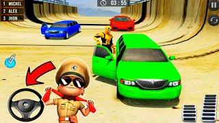 Mega Ramp Car Stunt Driving Games - Car Racing Games    Android Gameplay#shortsfeed screenshot 2