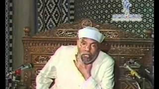 17 تفسير سورة الاعراف الاية 46 54 الشيخ الشعراوي