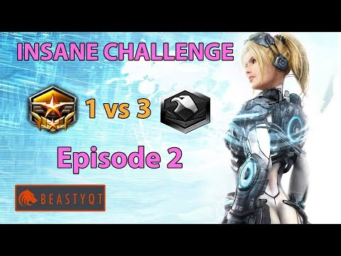 StarCraft 2: Grandmaster 1 vs 3 Platinum Players - INSANE Challenge - Episode 2